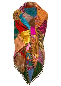 Indian Hppie shawl