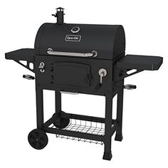 Dyna-Glo Heavy-Duty Charcoal Grill with Charcoal Door