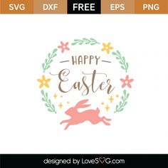 422 Best Free Easter And Spring Svgs Images In 2019