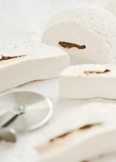 nutella-filled vanilla bean marshmallows
