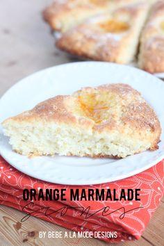 Amazing orange marmalade scone recipe. perfect recipe for brunch or breakfast!