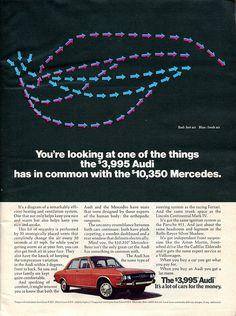 1973 Audi Advertisement Newsweek April 2 1973 | Flickr - Photo Sharing!