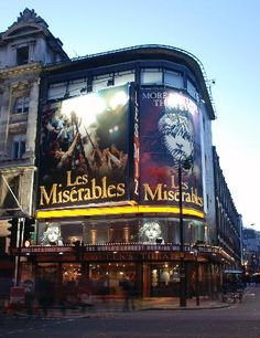 Les Miserables at the Queen's Theatre, London
