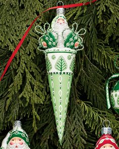 davis claus ornament by patricia breen design group at neiman marcus - Neiman Marcus Christmas Decor