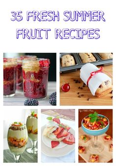 35 Fresh Summer Frui
