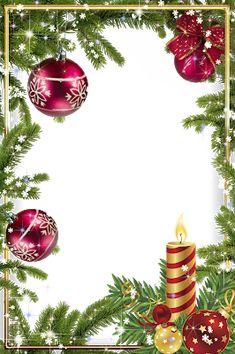 Christmas Boarders, Christmas Frames, Christmas Scenes, Christmas Cards To Make, Christmas Pictures, Christmas Art, Vintage Christmas, Christmas Letterhead, Christmas Stationery