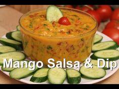 Mango Salsa, Dip or Dressing Recipe & Mono Meals: Low Fat Raw Vegan - YouTube