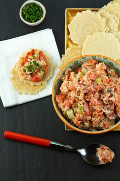 Smoked Salmon, Creme Fraiche, and Fennel Rillettes Recipe for an Oscars Viewing Party by Aida Mollenkamp #recipe #seafood #appetizer #party #entertaining
