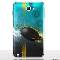 Coque telephone portable Samsung Galaxy NOTE 1 Design Rugby - Coque antichocs rigide