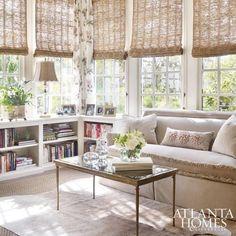 Elegant Sunroom Curtain Ideas