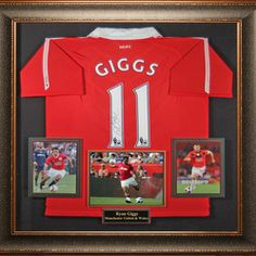 modern shadow box sports memorabilia