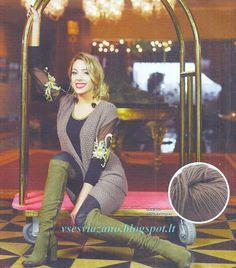 ВСЕ СВЯЗАНО. ROSOMAHA.: Теплый костюм из юбки с жилетом. Офисный дресс-код.
