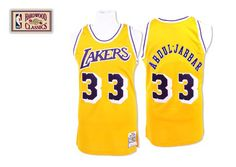 Lakers throwback #33 jersey.  $44.20 for one jersey, $67.6 for 2 pcs,  $91 for 3 pcs.The aveage price is $23.40 for each NBA jersey when you order 10 or more stuff once. Email me at : tonfljerseysshop@hotmail.com or cherry@ec8j.com