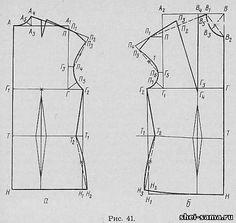 4. Блузка с короткими цельнокроеными рукавами - Блузки - Раскрой и шитье женской одежды - Всё о шитье