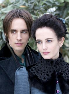 Eva Green as Vanessa Ives with Reeve Carney as Dorian Gray | 'Penny Dreadful'