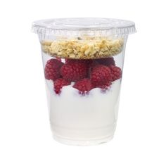 Wegmans Raspberry Greek Yogurt Parfait ❤ liked on Polyvore featuring food, food and drink, filler and food&drink