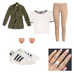 """""""Untitled #2"""" by recognizeme ❤ liked on Polyvore featuring adidas Originals, Topshop, Nili Lotan, H&M, Ted Baker, women's clothing, women's fashion, women, female and woman"""