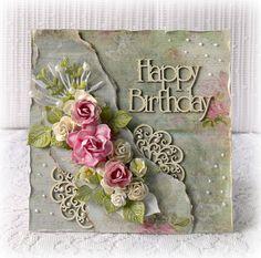 Handmade birthday card , birtheday card, Happy Birthday one card , 3D greeting…
