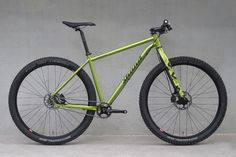 Shand Bahookie Single 29er singlespeed steel hardtail