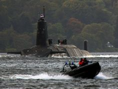Faslane, on the River Clyde, is the home of Britain's fleet of Trident nuclear…