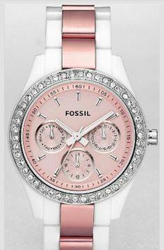 Fossil watch, having fun pinning!