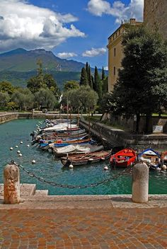 Riva del Garda, photo rivaarryroby www.panoramio.com/user/5647830, province of Trento , Trentino alto Adige region Italy.