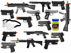 Airsoft guns for cosplay