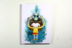 Items similar to Limited edition Art print. Girl with Owl. Postcard size on thick 300 paper on Etsy Card Sizes, Postcard Size, Finland, Owl, Fine Art Prints, Paper, Handmade Gifts, Cards, Vintage