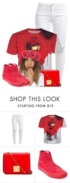 """""""❤ Needed Me - Anti ❤"""" by shegr00vy ❤ liked on Polyvore featuring FiveUnits, Michael Kors and Vans"""