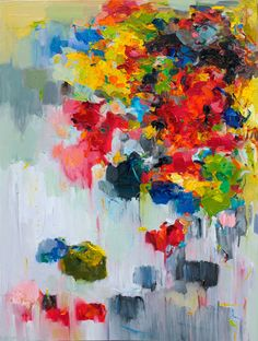 This is high quality and gorgeous giclee print from one of my original oil paintings. Title: Flower on wall 02  * It is professionally printed with Epson                                                                                                                                                      Mais