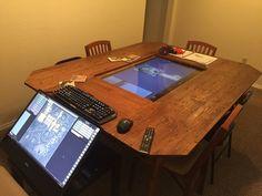 Caethial's D&D Corner — Gaming Table Build