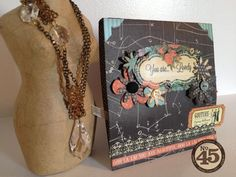 This Couture card by Denise Johnson also has a hidden sewing kit inside! Love this idea #graphic45 #cards