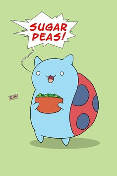 The best character in any online show! CATBUG!