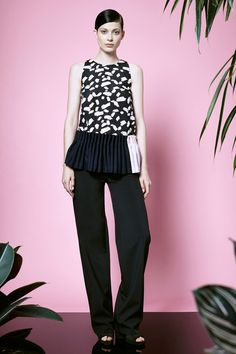 Opening Ceremony | Resort 2015 Collection | Style.com.          ~ Cute top!