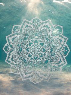 Mandala. Tattoo Inspiration. If you like this then check out the Home Decor at designsbynn.com