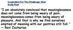 Ravi Zacharias Quotes Happiness. QuotesGram