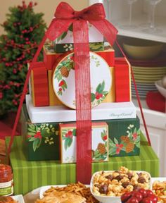 Harry & David Gift Set, Holiday Grand Deluxe Tower of Treats
