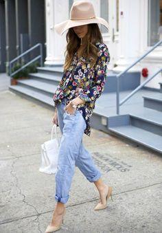 Ce printemps, on troque sa chemise à carreaux contre un modèle à fleurs !