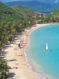 Most Romantic Beach Resorts -Caribbean -Peter Island Resort, British Virgin Islands