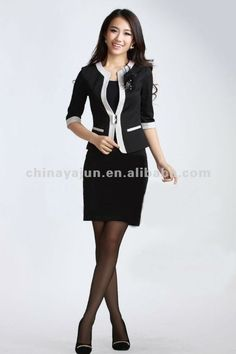 women's suits | Apparel Suits for Office Lady 2012 Women Skirt Suit, View 2012 Women ...