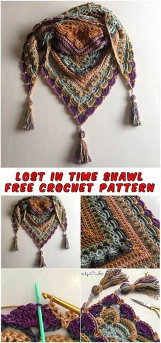 Free Crochet Pattern Stitches used in this pattern (US terms). The link to the full pattern is below. Would you Like us on Facebook? SAVE THIS PATTERN ON YOUR CROCHET PINTEREST BOARD Lost in Ti