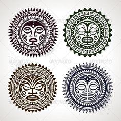 Полинезийские татуировки индейцев | Популярные эскизы тату в Полинезии