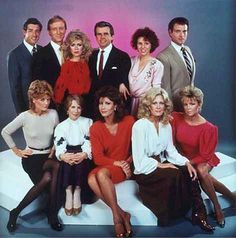 Knots Landing -HUGE! watched once a week with Mom