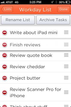 Cheddar is a focused, gorgeous and aggressively fast list app for iPhone and the web