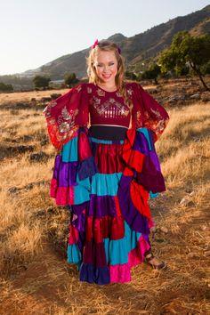 Ma quanto è bella la nostra Vicky? Si vede che #danzare con il #cuore fa bene al #sorriso! Le danze #Gitane