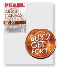 Cheap canvas'