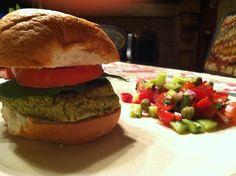 Falafel Burgers!!   Gluten Free, Dairy Free, Maker's Diet  glutenfreehappytummy   yummo!