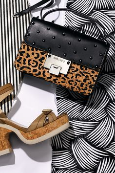 Unleash your inner animal with feisty shoes & bags from the Jimmy Choo spring collection.