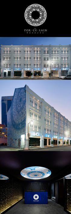 The Por.Ce.Lain Hotel Singapore by FARM Architect
