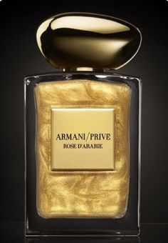 "Giorgio Armani launches a limited edition of its ""Rose d'Arabie"" fragrance, from its Armani/Privé line of high-end perfume Perfume Armani, Armani Prive Parfum, Armani Prive Rose D'arabie, Perfume Rose, Blossom Perfume, Flower Perfume, Armani Fragrance, Giorgio Armani Parfüm, Parfum Cartier"